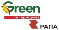 Логотип (торговая марка) Группа компаний РАПА Гипермаркеты GREEN