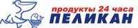 Логотип (торговая марка) сеть супермаркетов Пеликан