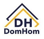 Логотип (торговая марка) Агентство недвижимости DomHom