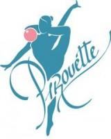 Логотип (торговая марка) Спортивный клуб художественной гимнастики Pirouette