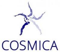 Логотип (торговая марка) Батутный центр COSMICA (ИП Кащеев Максим Александрович)