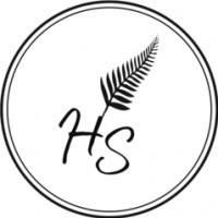 Логотип (торговая марка) Студия растяжки и йоги Home Stretching