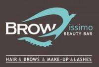 Логотип (торговая марка) Browissimo Beauty Bar