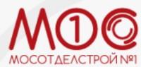 Логотип (торговая марка) Государственное унитарное предприятие города Москвы трест «Мосотделстрой № 1»