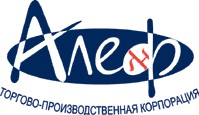 Логотип (торговая марка) ОООАлеф,  Торгово-производственная корпорация