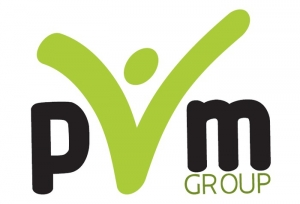 Логотип (бренд) компании, фирмы, организации PVM group