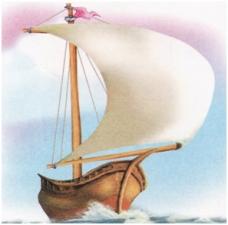 """Логотип (бренд) компании, фирмы, организации МДОУ """"Детский сад общеразвивающего вида № 1 """"Кораблик"""""""