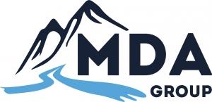 Логотип (бренд) компании, фирмы, организации МДА Групп